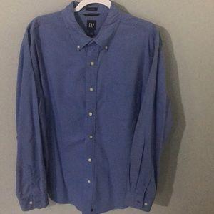 Gap men's button down shirt